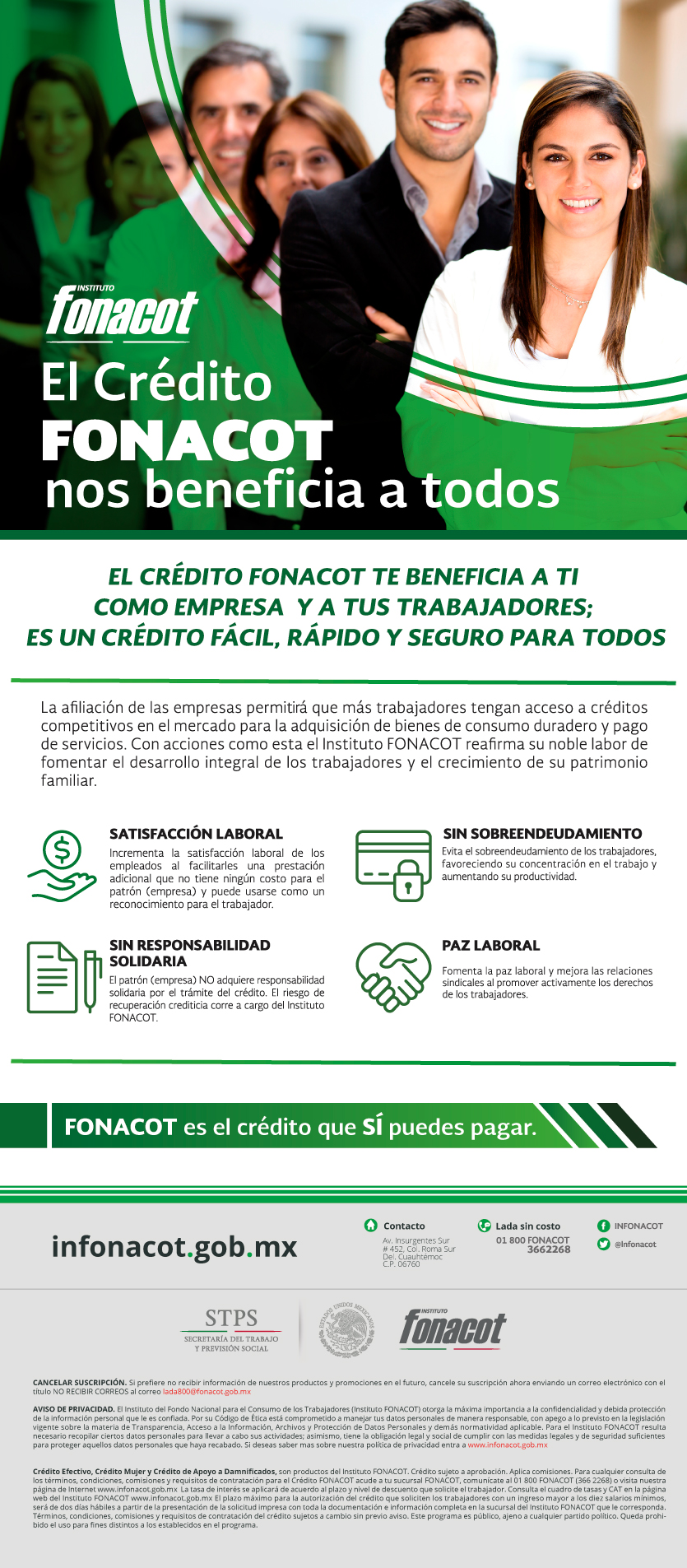 BENEFICIOS DE EMPRESA