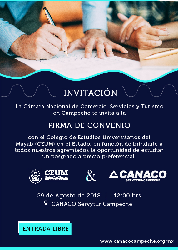 FirmaDeConvenioCEUM-CANACO