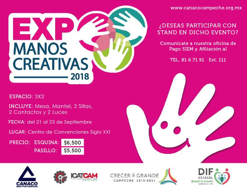 ManosCreativas2018CANACO